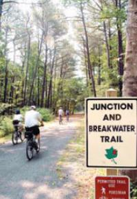 The Junction Breakwater Trail Lies Between Resort Towns Of Lewes And Rehoboth Beach On Western Edge Cape Henlopen State Park
