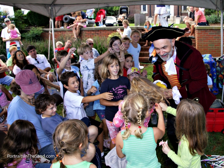 Children's activities during Boast the Coast Festival