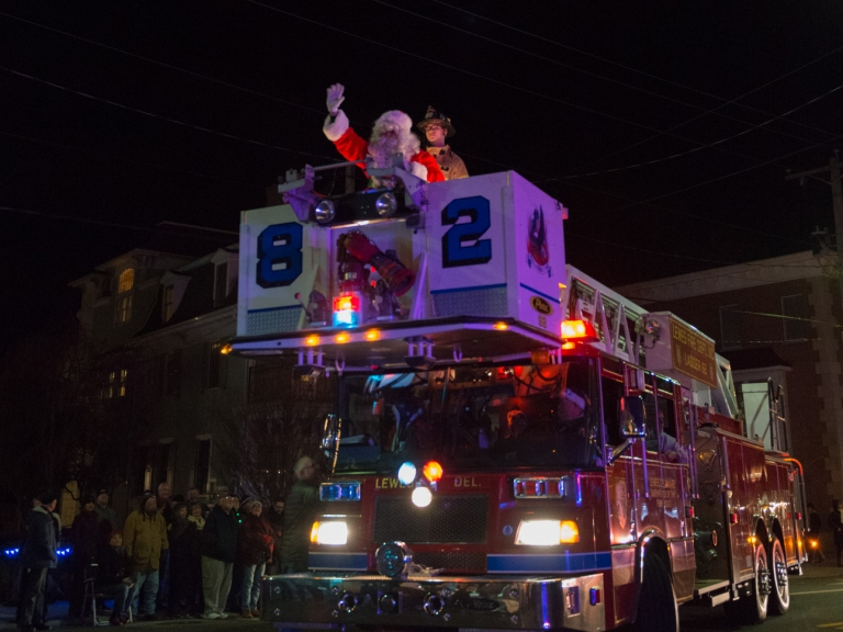 86th annual lewes christmas parade